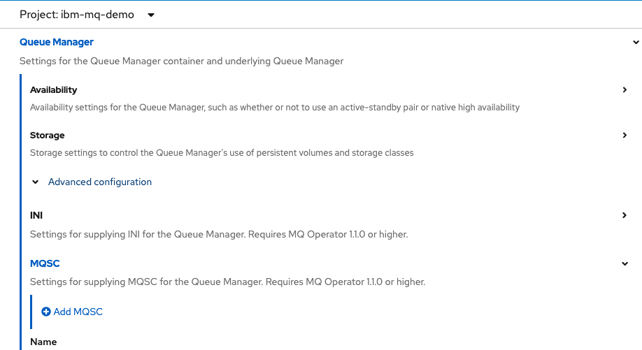 Rehosting IBM MQ on OpenShift container platform(OCP)-3